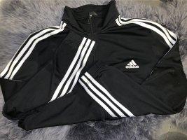 Adidas Gilet de sport noir-blanc