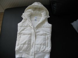 Adidas Originals Hooded Vest white polyamide