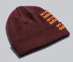 Adidas Bonnet bordeau-rouge carmin