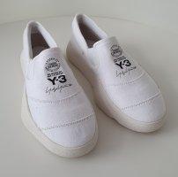 Adidas Y-3 Tangutsu Slip-On-Sneakers Weiß Gr. 38 2/3