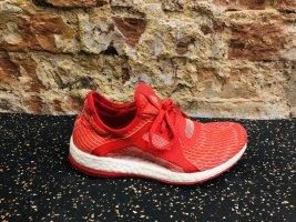 Adididas pure boost sneakers gr. 36 1/2 36,5 rot pureboost Laufschuhe Sportschuhe