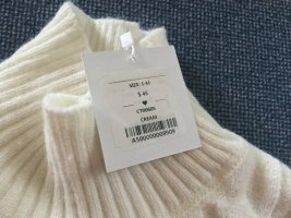 Coarse Knitted Sweater natural white