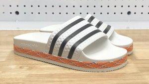 Adidas Ciabatta aperta bianco