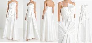 Adrianna Papell Vestido de novia blanco Poliéster