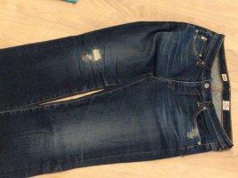 Adriano Goldschmied Jeans slim bleu