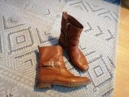AERIN Botas de tobillo coñac