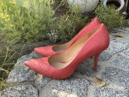 AERIN Pumps High Heels Pink Korallenrot spitz Gr. 39 / 9,5