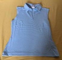 Nike Polo shirt azuur-wit