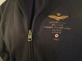 Aeronautica Militare Veste militaire gris foncé coton