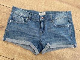 Aeropostale Pantaloncino di jeans blu