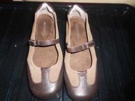Aerosoles Ballerines à lacets brun