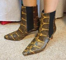 aeyde Wciągane buty za kostkę jasnobrązowy