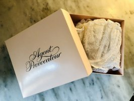 Agent Provocateur Lingerie Set white
