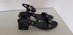 AGL Sandalias de tiras negro Cuero
