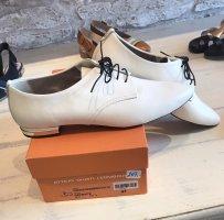 Attilio giusti leombruni Budapest schoenen wit-zwart Leer