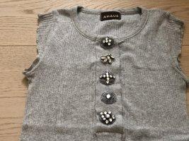 Coast Weber & Ahaus Camicia maglia grigio chiaro Cotone