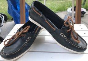 Aigle Zapatos de marinero azul oscuro
