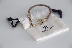 Aigner Bracelet cream leather