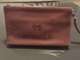 Aigner Clutch pink leather