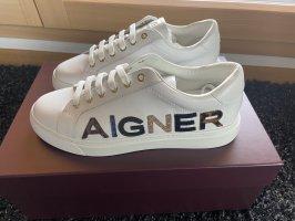 Aigner Sneakers met veters wit