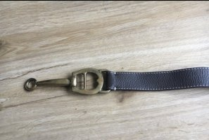 Aigner Leather Belt grey brown