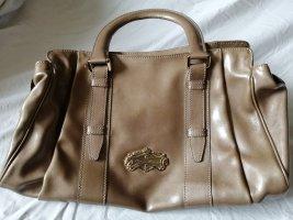Aigner Handtasche Lackoptik Bronzefarben