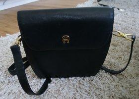 Aigner Handtasche schwarz vintage