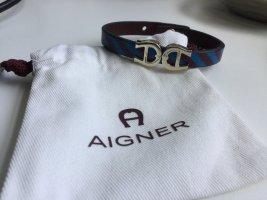 Aigner Leather Bracelet multicolored leather