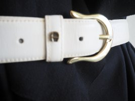 Etienne Aigner Belt natural white leather