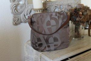 Aigner Shoulder Bag light brown polyamide