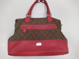 Aigner Handbag light brown-bright red