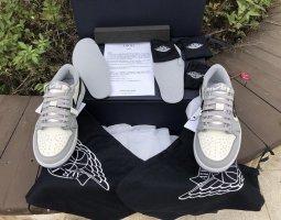 Christian Dior High Top Sneaker light grey-white