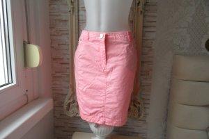 Airfield Jupe en jeans rosé coton