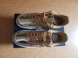 Air force 1 metallic gold