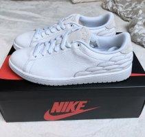 Air Jordan Zapatilla brogue blanco-blanco puro