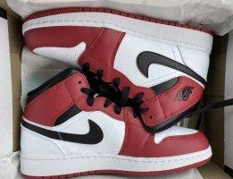 Air Jordan 1 Mid GS - Chicago 2020 (White Toe/Gym Red)