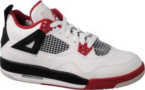"""Air Jordan 4 Retro (GS) """"Fire Red"""" 2012"""