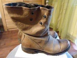 Air Step Botines beige-marrón Cuero