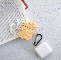 keine Marke Pokrowiec na telefon komórkowy złotopomarańczowy