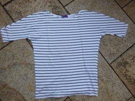 AJC T-Shirt gestreift Blau-Weiß