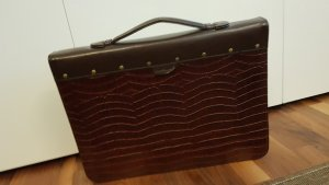 Briefcase dark brown