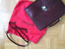 Briefcase multicolored leather