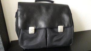 Esprit Briefcase black-silver-colored