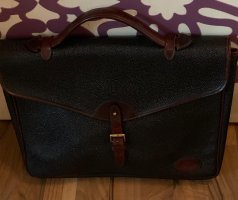 Mulberry Briefcase black-dark brown leather