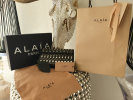 Alaïa Pochette blanc-noir