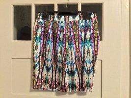 Alba Moda Falda globo multicolor tejido mezclado