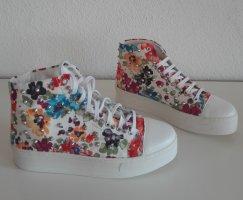 Alba Moda Sneakers met veters oranje Gemengd weefsel