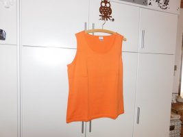 Alba Moda Top de punto naranja Algodón