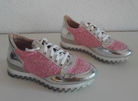 Alba Moda Sneakers met veters roze
