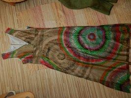 Alba Moda Vestido strapless multicolor Seda